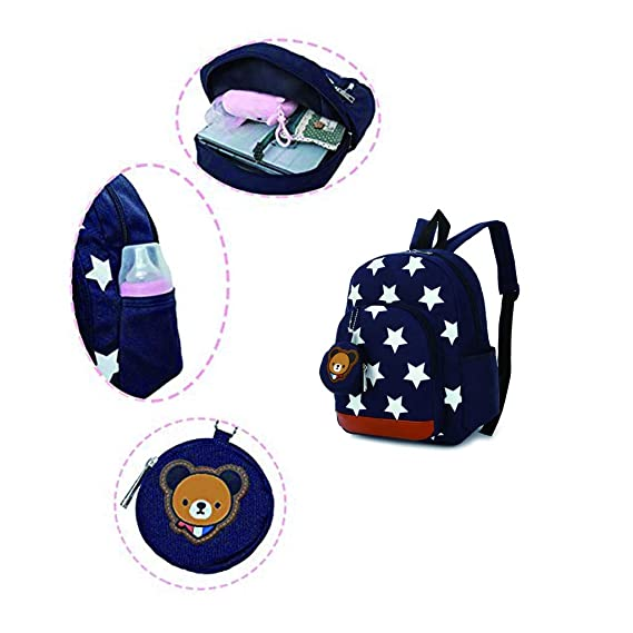 Amazon.com | Kids Backpack, Nursery Preschool Backpack Shoulder Bags Kids Book Backpack Kindergarten Bag Boy Girl Rucksack 3-7 Years Old | Kids Backpacks