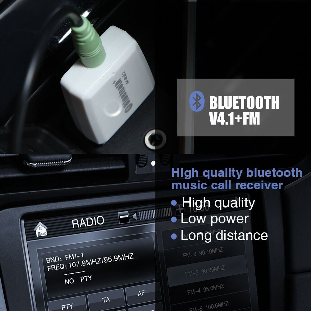 Bluetooth Adaptertongji Usb 41 Speaker Stereo Music Recever Adapter Wireless Receiver 35mm Output For Car Home Cell Phones