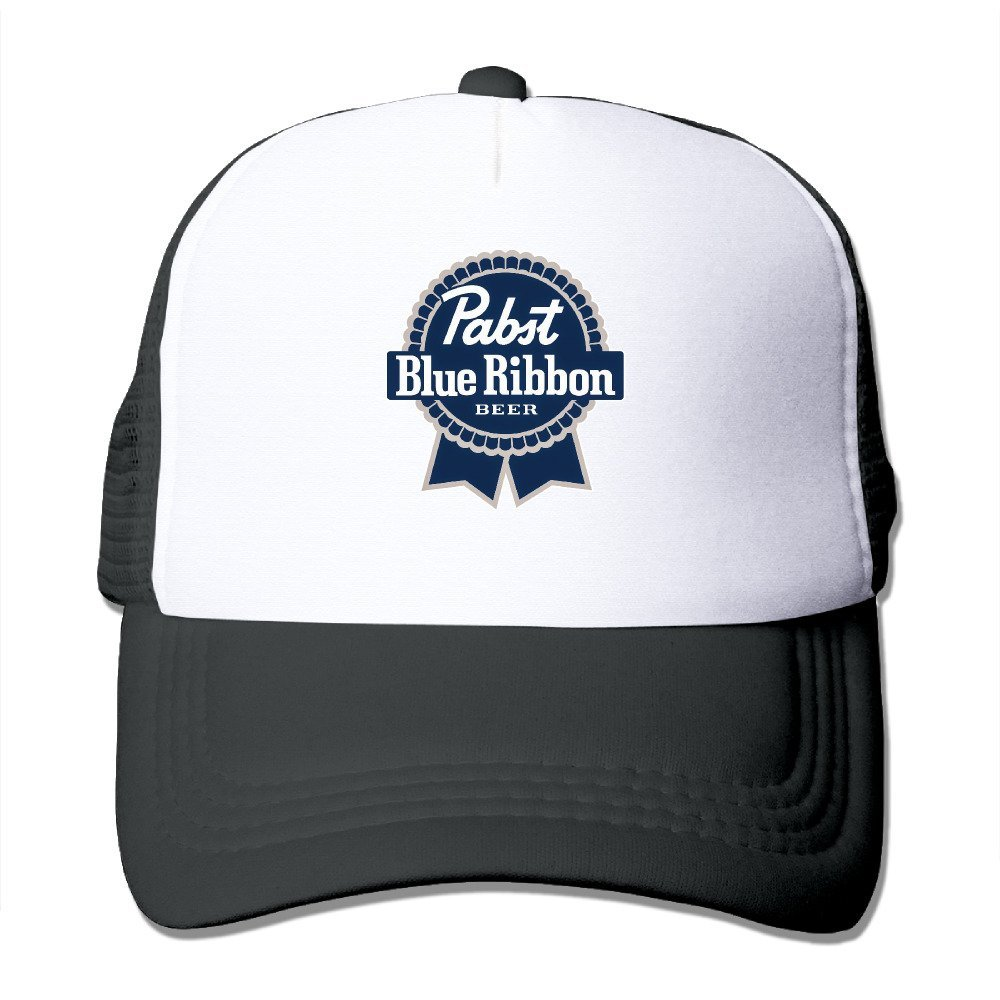 Amazon.com  TOTAGASO-CAP Cool Pabst Blue Ribbon Trucker Cap Baseball Hat (5  Colors) Black  Sports   Outdoors 4a0694d0044