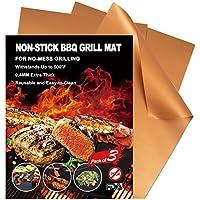 3-Set YIHONG Grill Mat Non-Stick BBQ Grill Mats