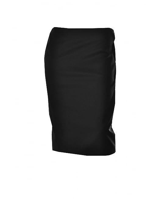 Calvin Klein - Falda - Skort - para Mujer Negro 40: Amazon.es ...