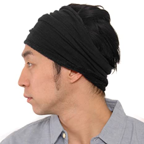 Amazon.com  CasualBox Mens Sports Sweat Headband Towel Stretch ... ea7bcd88f33