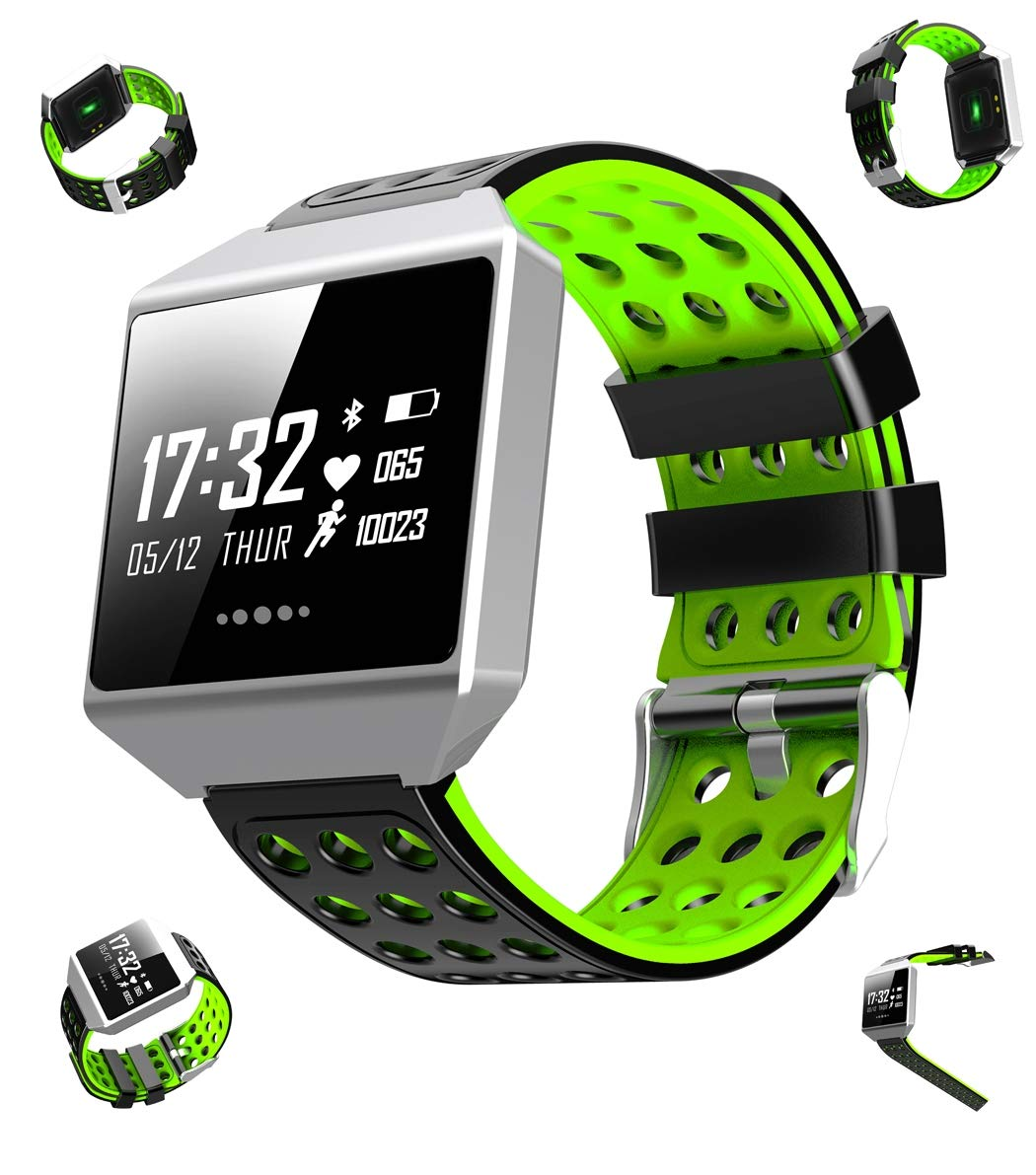 WLH Smart Watch, Blood Pressure,Heart Rate, Sleep Monitor,Sport,Call Reminder,Alarm Reminder,Raise You You Reminder,Raise Hand The Watch lightr,Social Share smart Watch. 399052