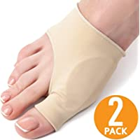 St. Lun 1Pair Bunion Corrector Sleeve Bunion Relief Orthopedic Bunion Splint Pads Toe Straightener Cushions (Size : L)