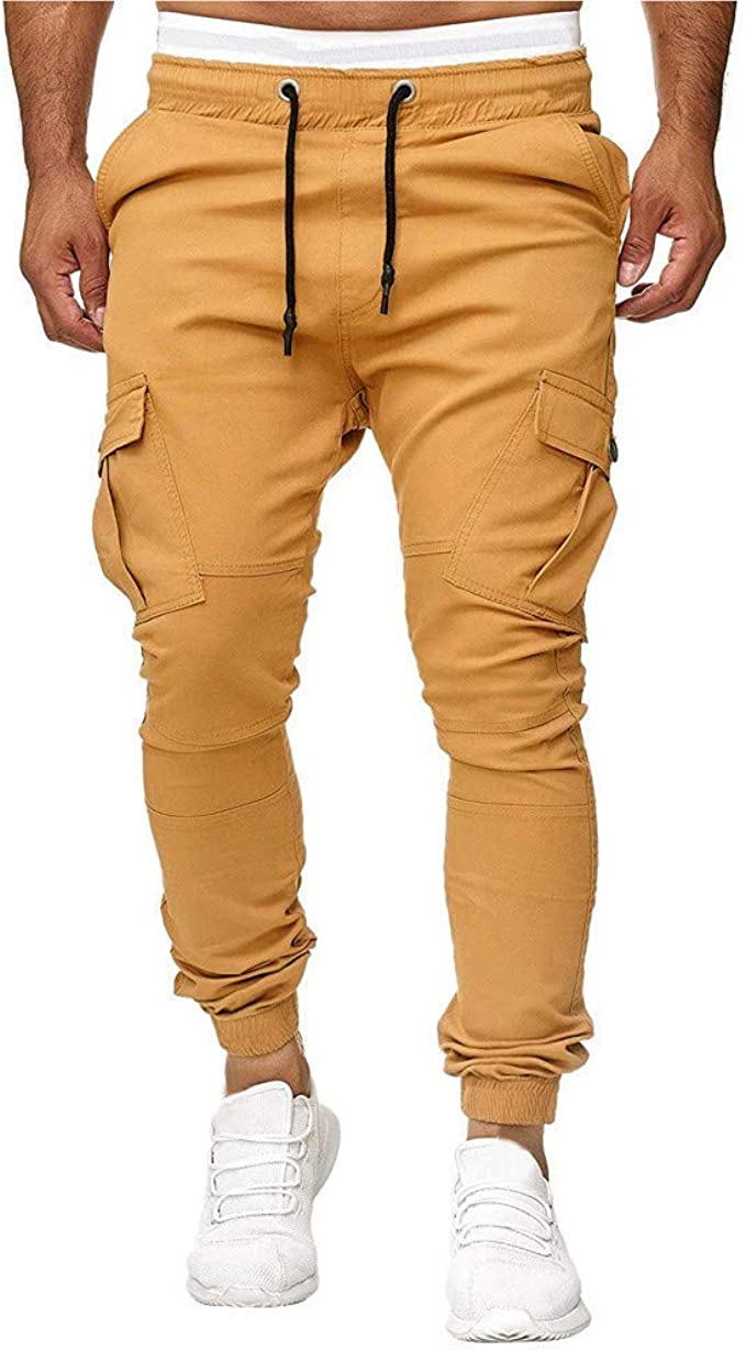 SWISSWELL Pantalones para Hombre, Hombres Pantalones Casuales ...