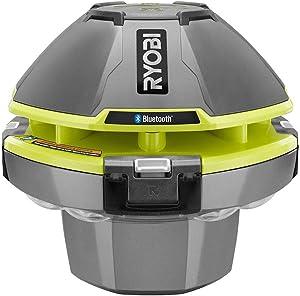 Ryobi 18 Volt Floating Speaker W/Built in Light Show (Bare Tool)