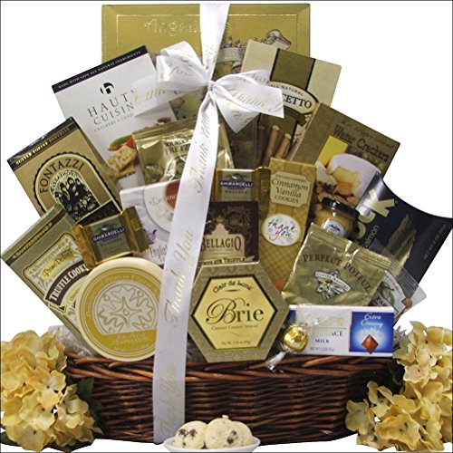 Sincere Thanks: Administrative Professionals Day Gift Basket by GreatArrivals Gift Baskets