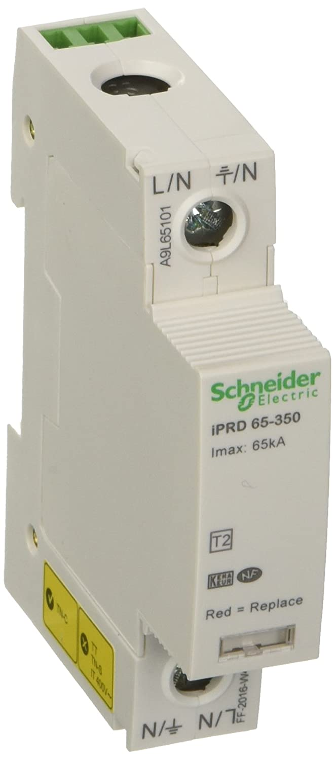 Schneider A9L65101 Surge Protection Devices, White
