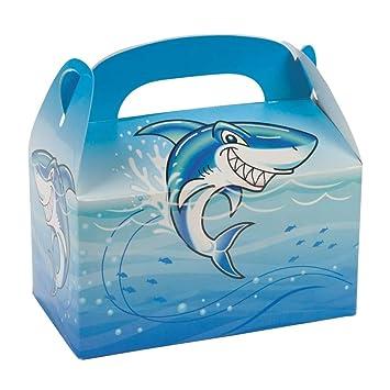 Fun Express Shark - Cajas de Regalo para Fiesta de ...