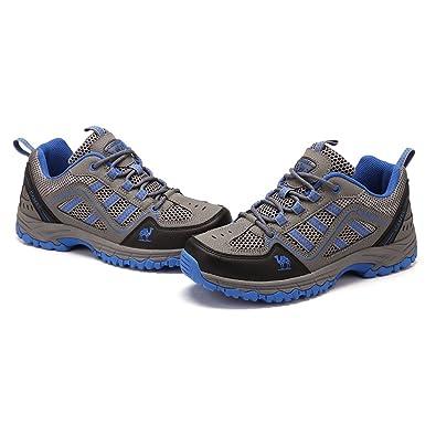 Zapatos de Senderismo Unisex Running Walking Shoe.Causal Zapatillas Respirables para Gimnasio, Senderismo, Escalada, Viaje, Uso Diario, Entrenadores Junior: ...