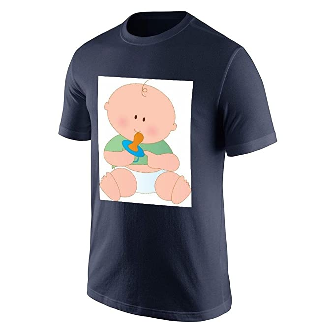 Se La rage de hombre persona pañales camiseta para hombre azul marino XXXLarge