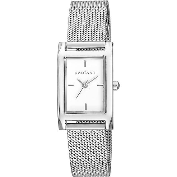 Reloj Radiant mujer New Goldbar RA464201 plateado [AB6232] - Modelo: RA464201: Amazon.es: Relojes
