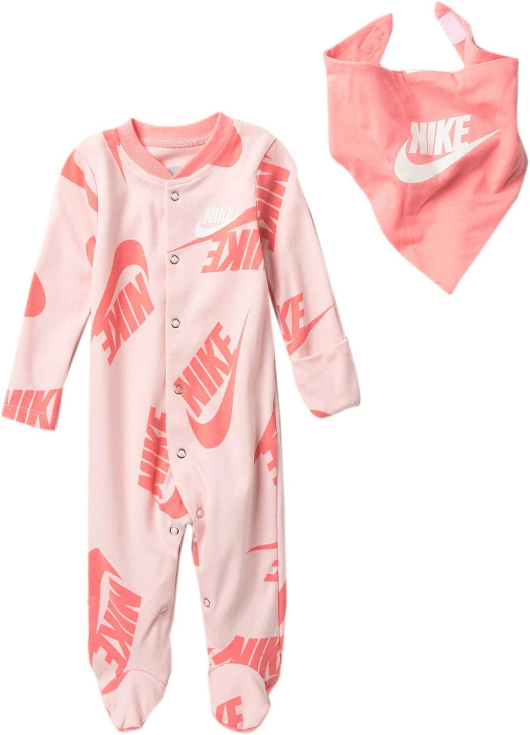 Nike Baby Coverall /& Bib 2 Piece Set
