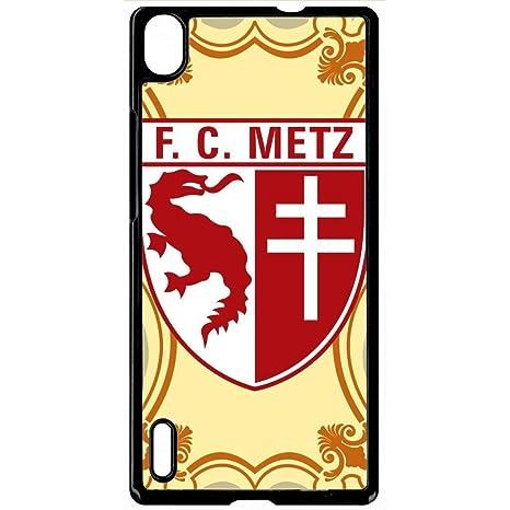 Carcasa Huawei P7 escudo Club FC Metz: Amazon.es: Electrónica