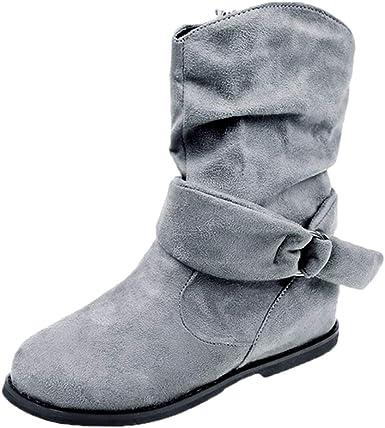 Women's Comfort Calf Flat Heel Ankle