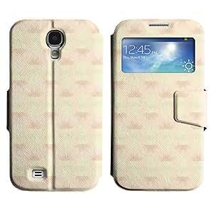 LEOCASE Funda Carcasa Cuero Tapa Case Para Samsung Galaxy S4 I9500 No.1007656