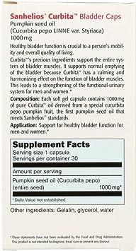 Sanhelios (NOT A CASE) Curbita Bladder Caps 1000 mg, 30 Softgel Capsules