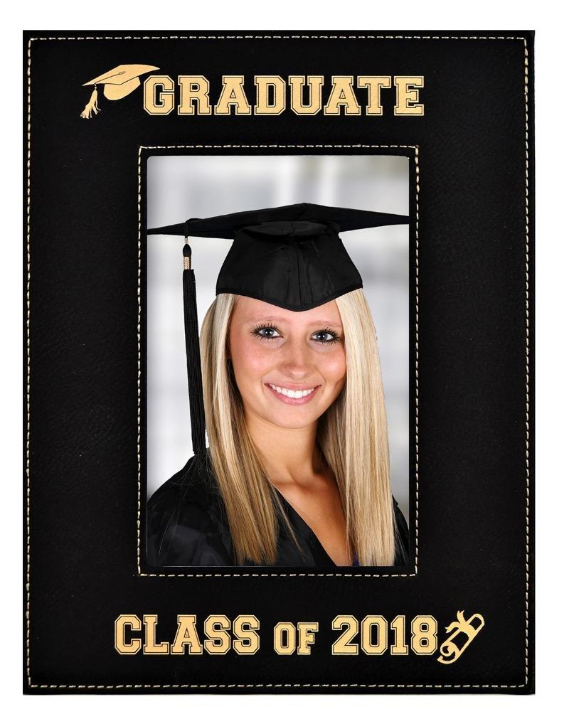 Amazon.com - GIFT FOR GRADUATE ~ Engraved Leatherette Graduation ...