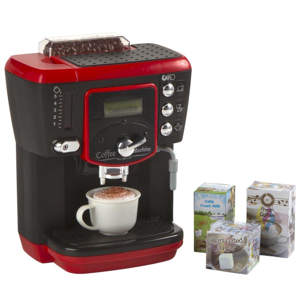 Playgo - Juguete, Cafetera eléctrica Deluxe con luz y sonido (ColorBaby 42047): Amazon.es: Juguetes y juegos