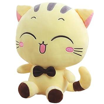 "Peluche de peluche suave animales de peluche de juguete Beige Cat muñeca 31 ""bebé"
