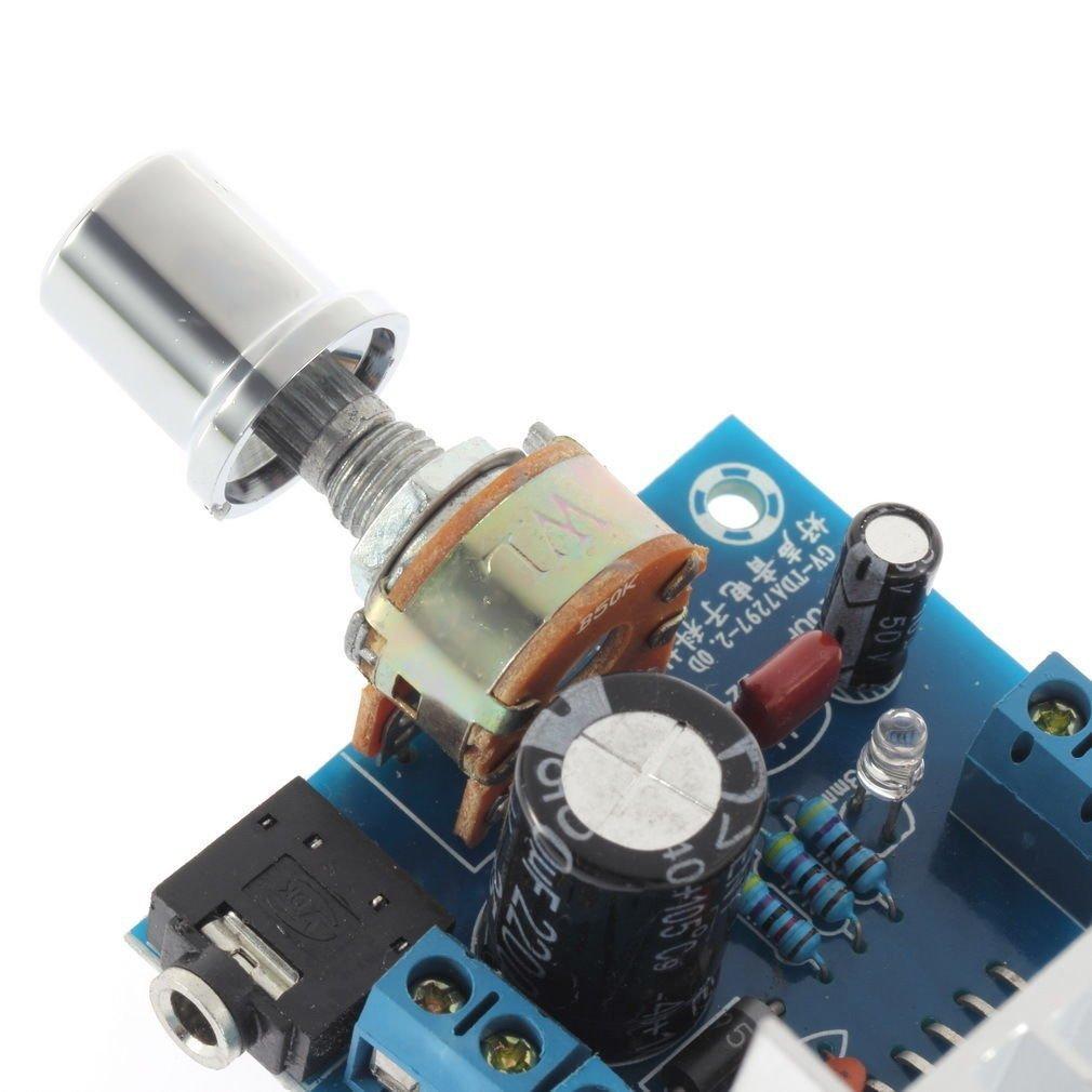 Amazon Hiletgo 2 Tda7297 Ac Dc 12v 215w 20w Audio Amplifier Circuit Using Tda1552q