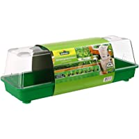 Dehner Mini-serre Alexander, env. 59x 20x 20cm, plastique, vert