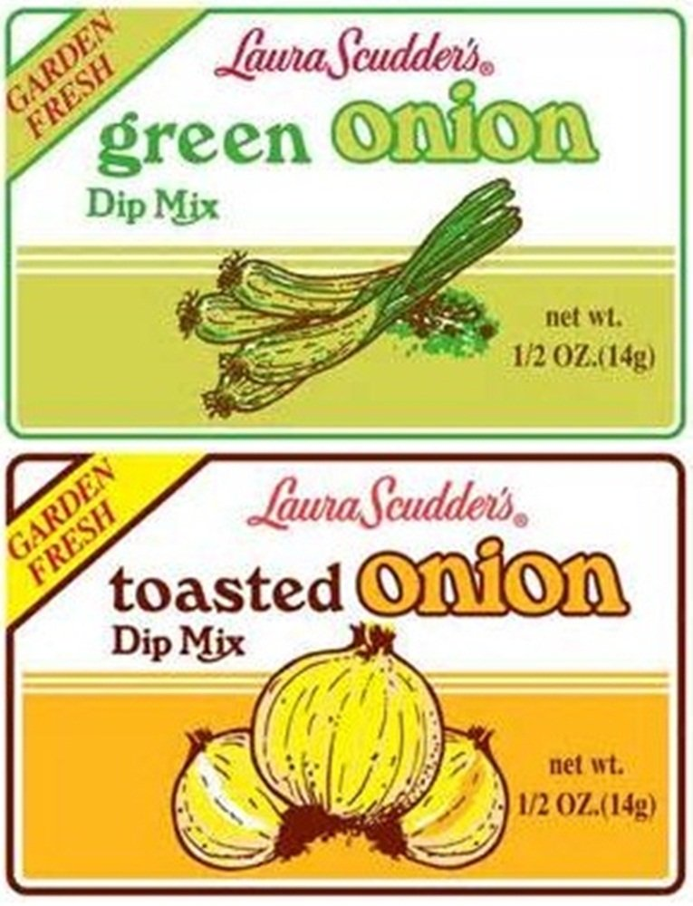 Laura Scudder's Green Onion & Toasted Onion Dip Mix (Pack of 6) by Laura Scudder's