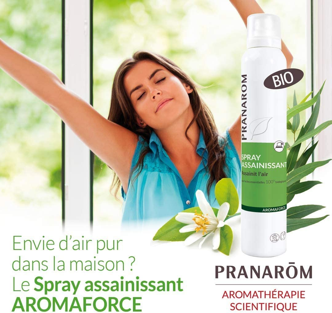 Pranarom Spray Purificador - Desinfecta, Purifica y Sanea E 100 g ...