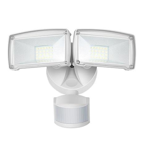 22W Foco LED con Sensor de Movimiento, Proyector Exterior, equivalencia SAP 120W, IP65