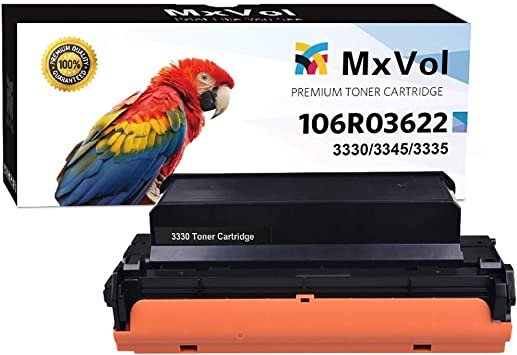 3345 106R03622 On-Site Laser Compatible Toner Replacement for Xerox 106R03624 Extra High Yield Works with: Phaser 3330; WorkCentre 3335