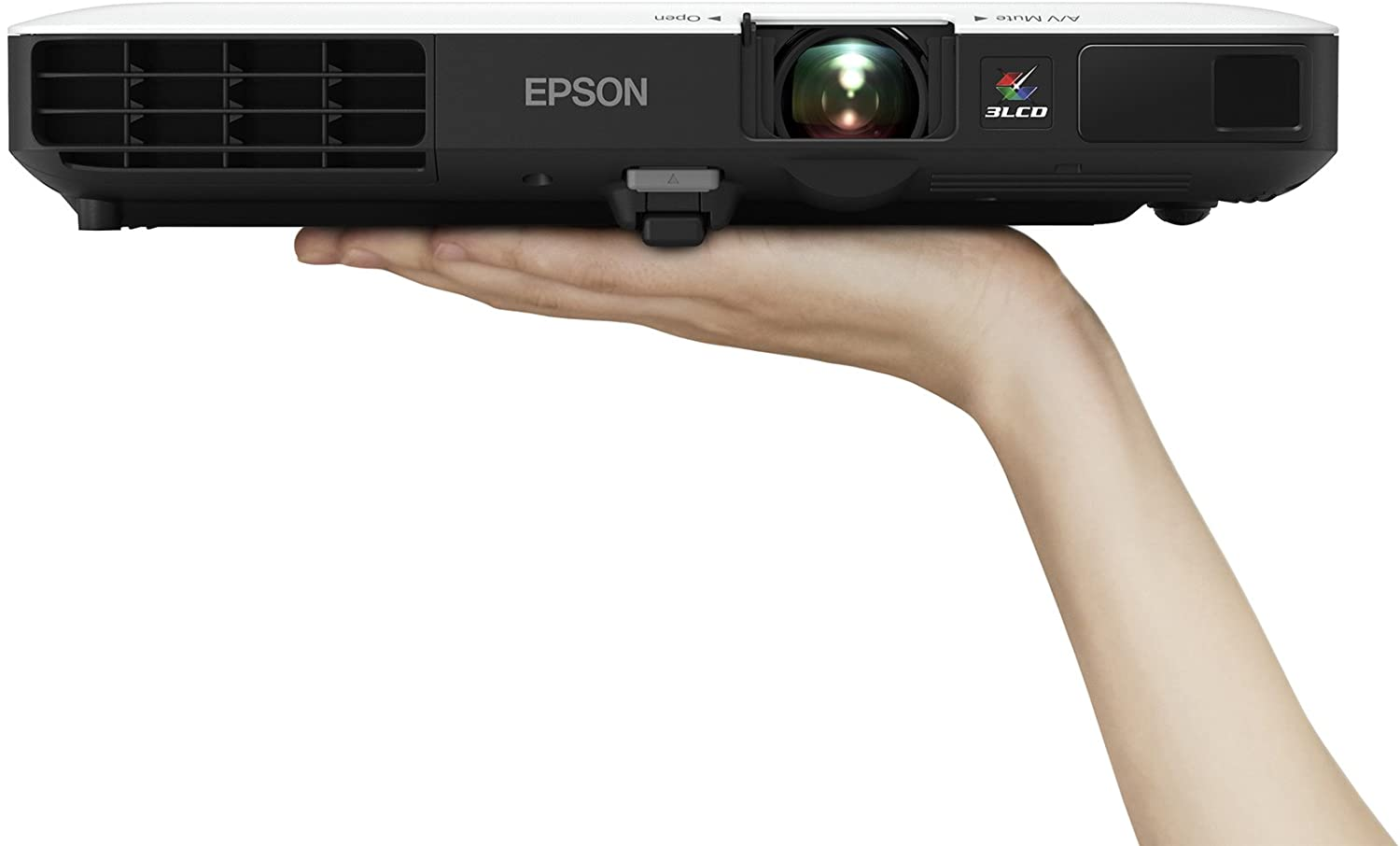 Epson PowerLite 1785W 3LCD WXGA wireless mobile projector with carrying case and fast and easy image adjustments. A bright fully equipped solution for presentations and wireless video streaming