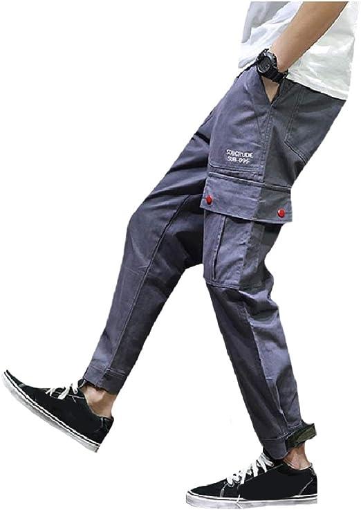 YAXINHE Men Multicam Outwear Big Pockets Cargo Workwear Ranger Pants