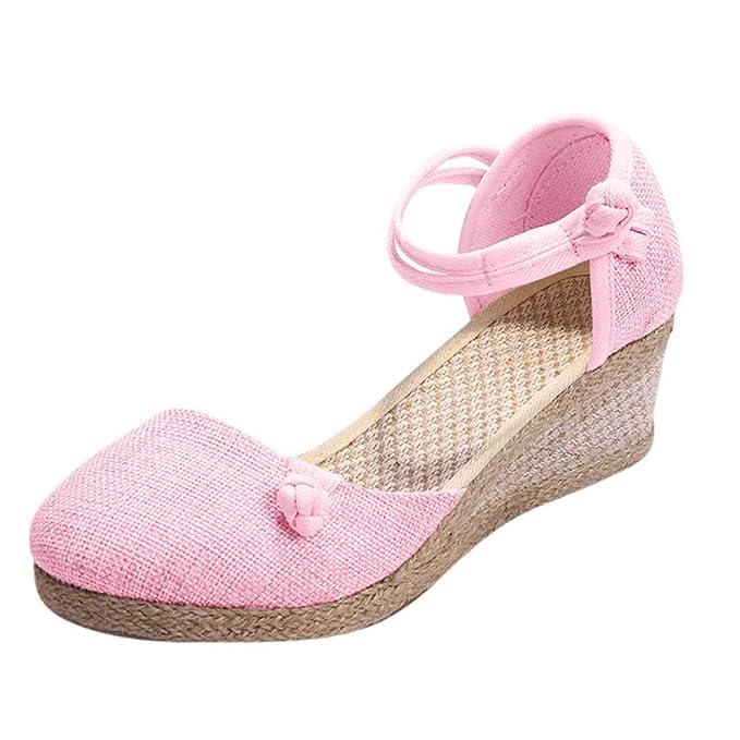 47b490d9905c Amazon.com  Womens Retro Wedge Sandals