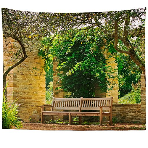 Cheap  Westlake Art - Architecture Bench - Wall Hanging Tapestry - Picture Photography..