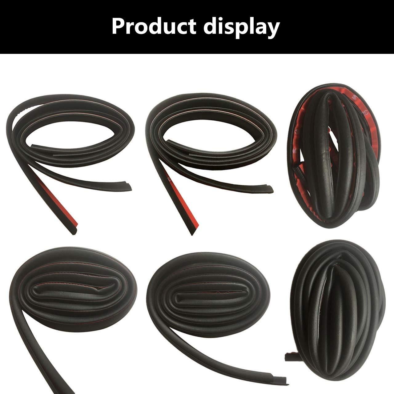 TONGXU Kit de 11 joints de porte pour voiture Mod/èle 3 Bande de joint complet pour joints en caoutchouc auto-adh/ésifs pour sonorisation Installation facile Protection contre le vent Eau bruyante
