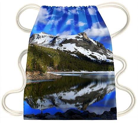 iRocket lake Drawstring Backpack Sack Bag