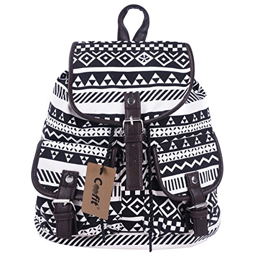 coofit-canvas-backpack-for-girls-women-floral-college-backpack-casual-book-bags