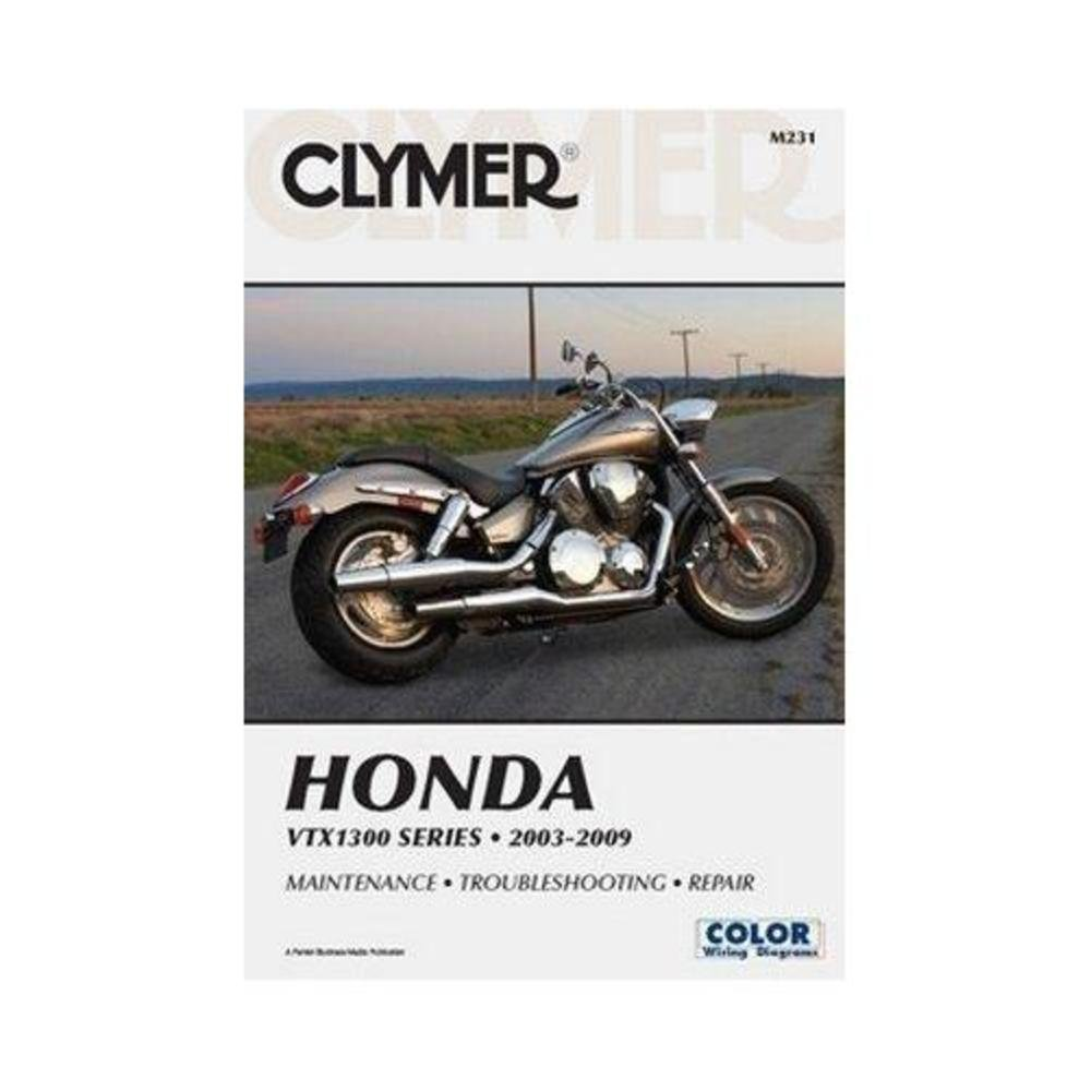 Clymer Repair Manual For Honda Vtx1300 C R S T 03 09 Vtx 1300 Brake Wiring Diagram Automotive