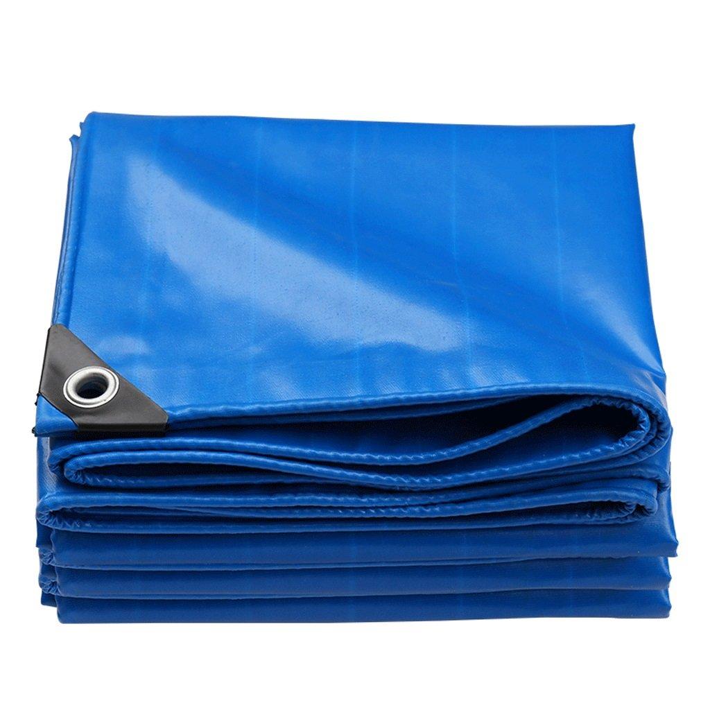 CXZS Sonnenschutz Regen Tuch verschleißfeste Plane Wasserdichte Leinwand Tuch LKW Plane Schatten Baldachin Tuch (550g   m²) (größe   2  4m)