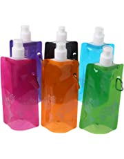 Yanhonin Botella de Agua Plegable, Botella de Agua, Botella de Deporte, Bolsa de