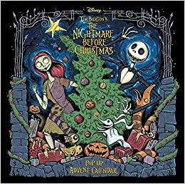The Nightmare Before Christmas Pop-Up Advent Calendar Book