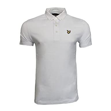 Lyle and Scott Vintage Woven Collar Polo Shirt: Amazon.es: Ropa y ...