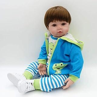 Bambola piena del bambino del vinile della bambola del vinile molle di 58cm Giocattoli della bambola del bambino di Playmate del regalo della bambola del bambino non tossico sicuro fatto a mano JullyeleITgant