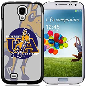 Fashionable And Unique Designed With NCAA Colonial Athletic Association CAA Football Albany Great Danes 2 Protective Cell Phone Hardshell Cover Case For Samsung Galaxy S4 I9500 i337 M919 i545 r970 l720 Phone Case Black