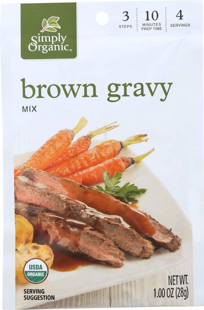 Simply Organic (NOT A CASE) Brown Gravy Seasoning Mix