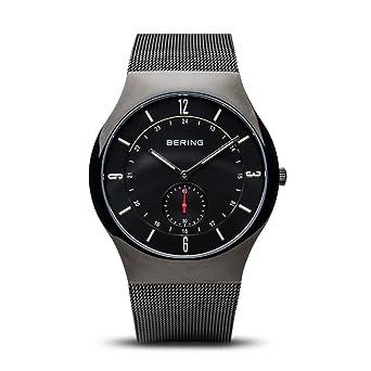 BERING Reloj Analógico para Hombre de Cuarzo con Correa en Acero Inoxidable 11940-222: Amazon.es: Relojes