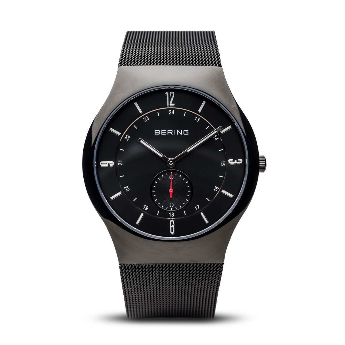 BERING Time 11940-222 Mens Classic Collection Watch with Mesh Band and scratch resistant sapphire crystal. Designed in Denmark. by Bering (Image #1)