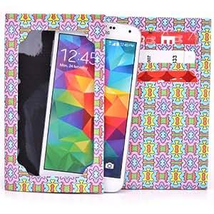 Tyvek Wallet for Smartphones - LG G2 D802 4G LTE Paper Wallet (Purple Burst)