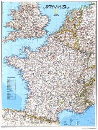 carte belgique france
