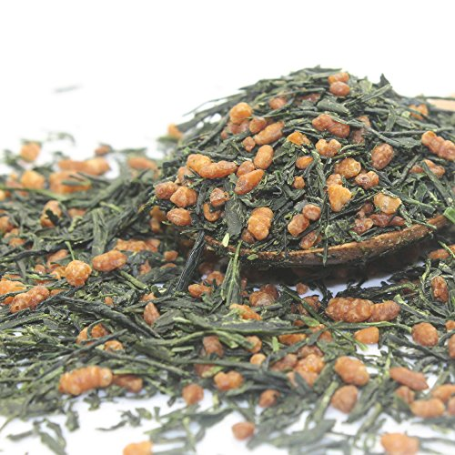Imperial Gyokuro Genmaicha Japanese Loose Leaf Green Tea, Organic (3.5oz / 100g) (Brown Rice Tea Loose Leaf compare prices)